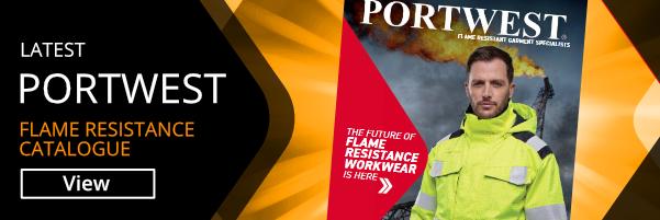 Portwest flame resistance catalogue view online